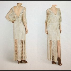 Free People w/sequin embellished maxi dress